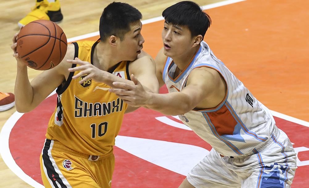 籃球——CBA:新疆廣匯汽車對陣山西汾酒股份