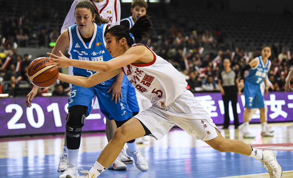 籃球——WCBA:新疆體彩勝陜西天澤體彩