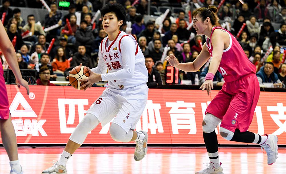 籃球——WCBA:新疆體彩勝山東西王