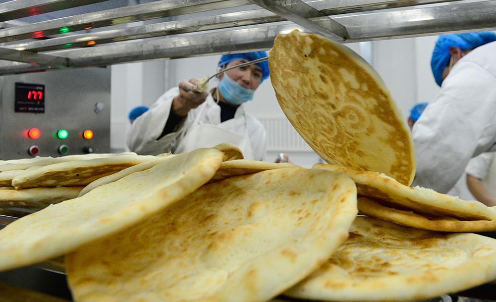 小馕餅打造大産業