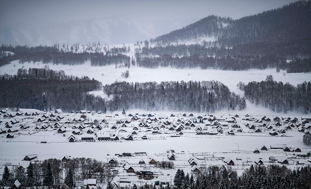 新疆禾木:盡享雪趣