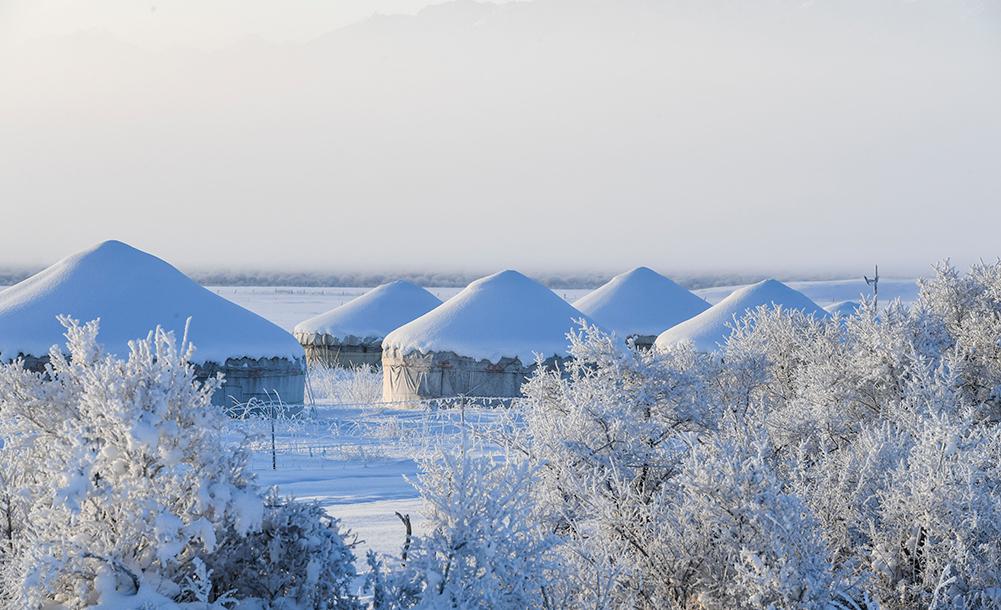 新疆昭蘇:冰雪勝境