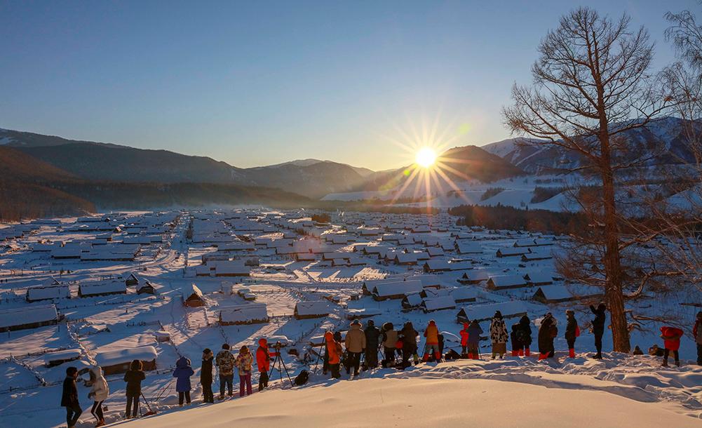 冬遊喀納斯度新年