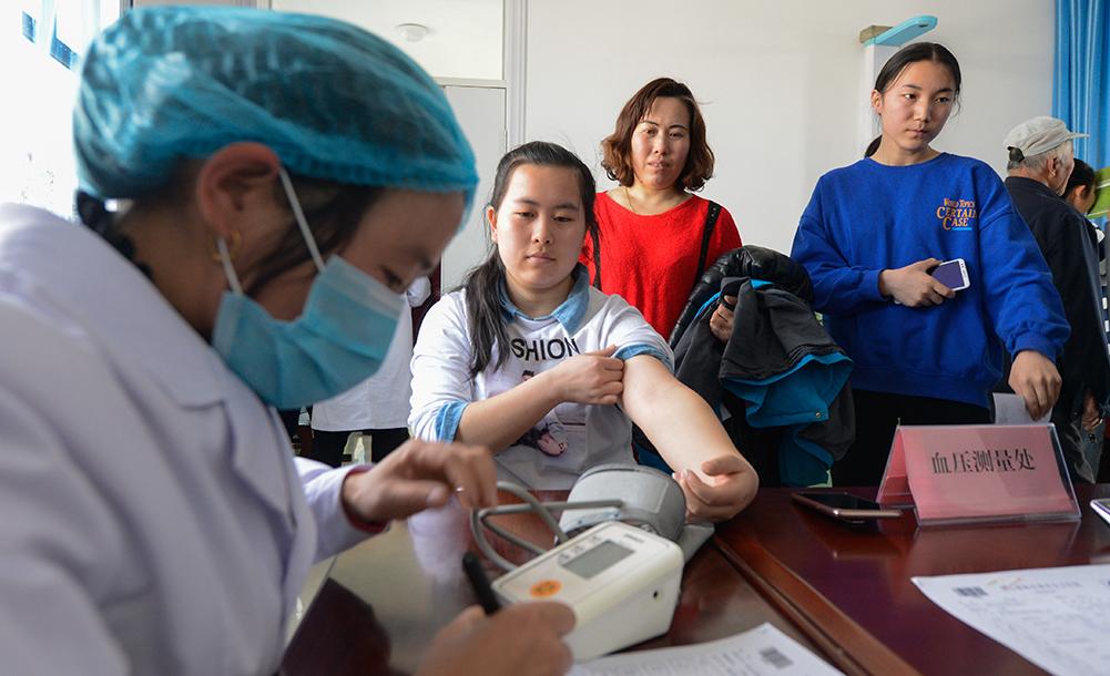 新疆:2019年全民健康體檢工作陸續啟動