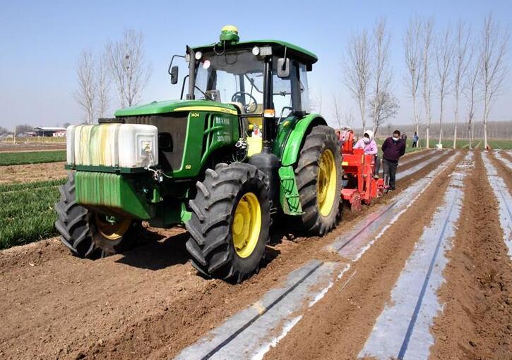 現代化農機讓春耕有序高效